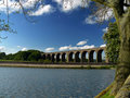 Hevenden viaduct Royalty Free Stock Photo