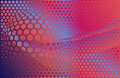 Hex background abstract Royalty Free Stock Photo