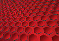 Hexagon background Stock Image