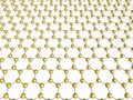 Hexagon background Royalty Free Stock Image