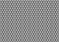 Hexagon background black and white formed with hexagons cubes of Royalty Free Stock Photo