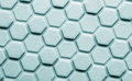Hexagon background closeup of rubber Royalty Free Stock Image