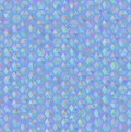 Hexagon blue seamless pattern texture