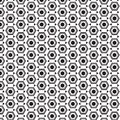 Hexagon geometric cover tile fabric pattern background vector illustration design abstract wallpaper print Royalty Free Stock Image