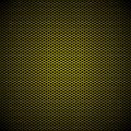 Hexagon gold metal background Royalty Free Stock Photo