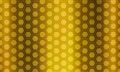 Hexagon gold metal background Royalty Free Stock Photo