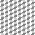 Grid from hexagons seamless monochrome background