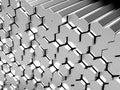 Hexagon metal bars