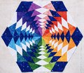 Hexagon Patchwork Block Like K...
