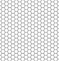Hexagonal cell texture. Honey hexagon cells, honeyed comb grid grill texture and geometric hive honeycombs, mosaic or speaker