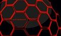 hexagonal honeycomb 3d