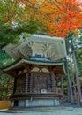 Hexagonal sutra repository at danjo garan temple in koyasan area in wakayama rokkaku kyozo japan Stock Images
