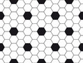 Hexagonal texture Royalty Free Stock Images