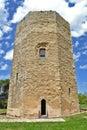 Hexagonal tower, Enna Stock Photos