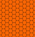 Hexagons pattern. Seamless texture.