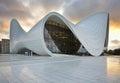 Heydar Aliyev Center in Baku. Azerbaijan Royalty Free Stock Photo