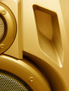 Hi-Fi speaker design Royalty Free Stock Photo