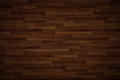 Hi quality wooden floor texture used as background - horizontal lines Royalty Free Stock Photo
