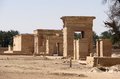 Hibis temple located hibis ancient metropolis egypt Stock Photography