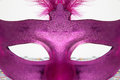 Hidden Behind The Mask Royalty Free Stock Photo