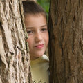 Hide-and-seek Fotografie Stock Libere da Diritti