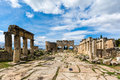 Hierapolis Ancient City, Denizli Royalty Free Stock Photo