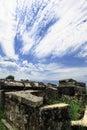 stock image of  Hierapolis in Turkey. Pamukkale