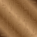Hieroglyphic background Royalty Free Stock Image