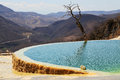 Hierve el agua, Oaxaca, Mexico Royalty Free Stock Photo