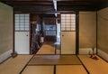Higashi chaya district kanazawa japan may interior of the old wooden house in east geisha in kanazawa ishikawa prefecture Stock Photography