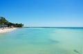 Higgs beach pier, sea, Key West, Keys, Cayo Hueso, Monroe County, island, Florida Royalty Free Stock Photo