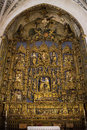 High Altar - Burgos Cathedral - Spain Stock Photos