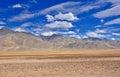 High altitude mountain desert