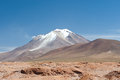 HIgh Andean Landscape Royalty Free Stock Photo
