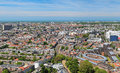 High angle view of The Hague, Netherlands Royalty Free Stock Photo