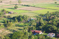 High angle view of rural areas. Royalty Free Stock Photos