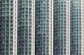 High density public housing building in hong kong a picture of densely packed Royalty Free Stock Photography