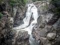 High Falls Gorge Royalty Free Stock Photo