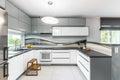 High gloss kitchen idea