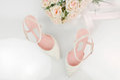 High Heel Bridal Shoes
