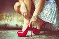 Alto tacco scarpe