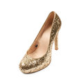 High-heeled footwear shoe isolated Royalty Free Stock Photo