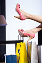 High Heels Stock Photo