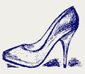 High heels Royalty Free Stock Photography