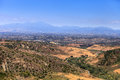 High hillside view in Aliso and Wood Canyons Wilderness Park in Royalty Free Stock Photo