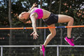 High jump Royalty Free Stock Photo