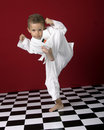 High kick Royalty Free Stock Photography
