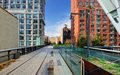 High line new york city park in Stock Photos