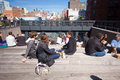High Line Park NYC Royalty Free Stock Photography