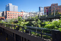 High Line Park NYC Stock Images